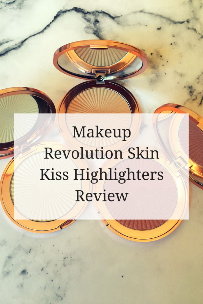 Makeup Revolution Skin Kiss Highlighters Review