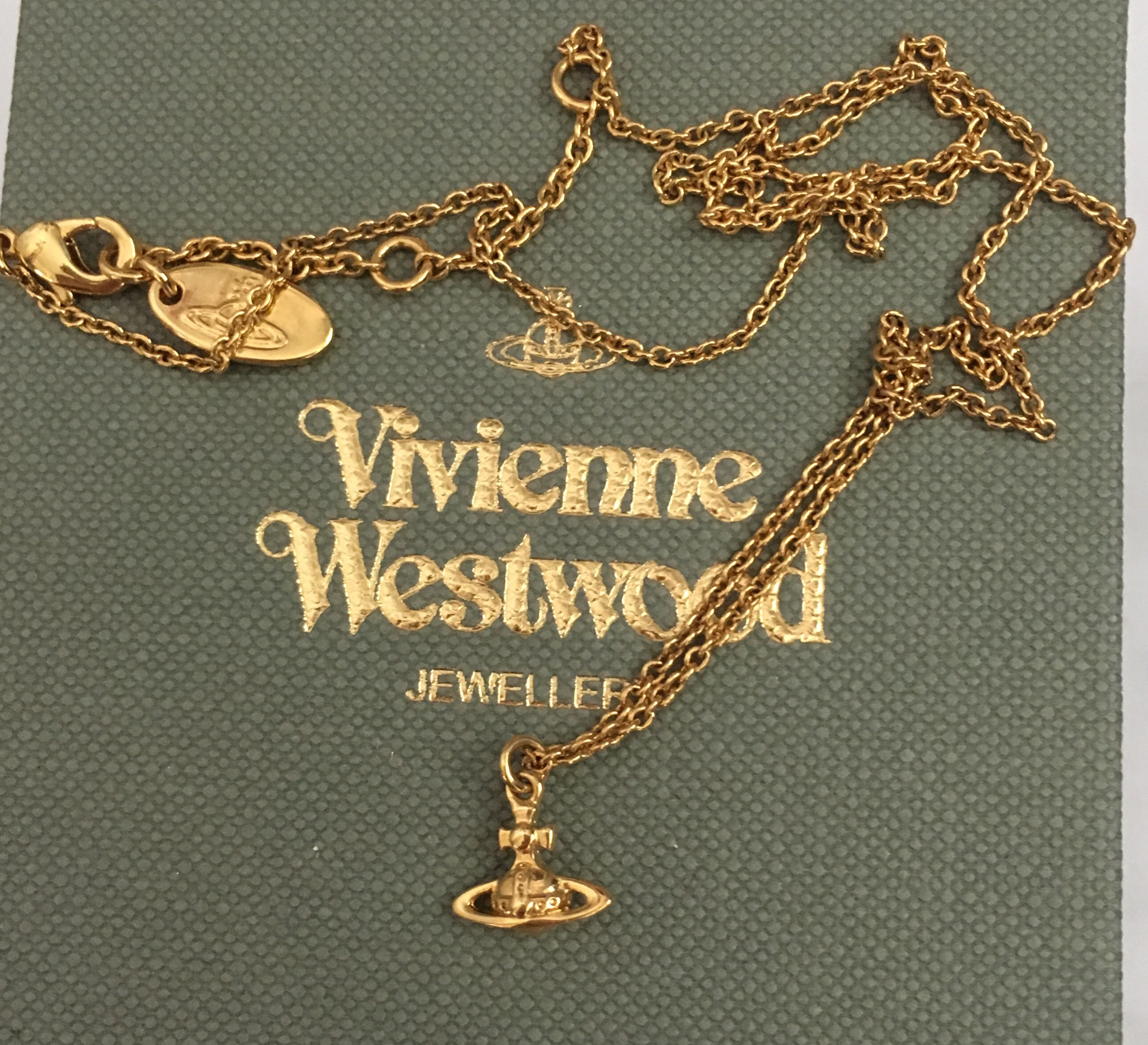 Vivienne Westwood gold necklace