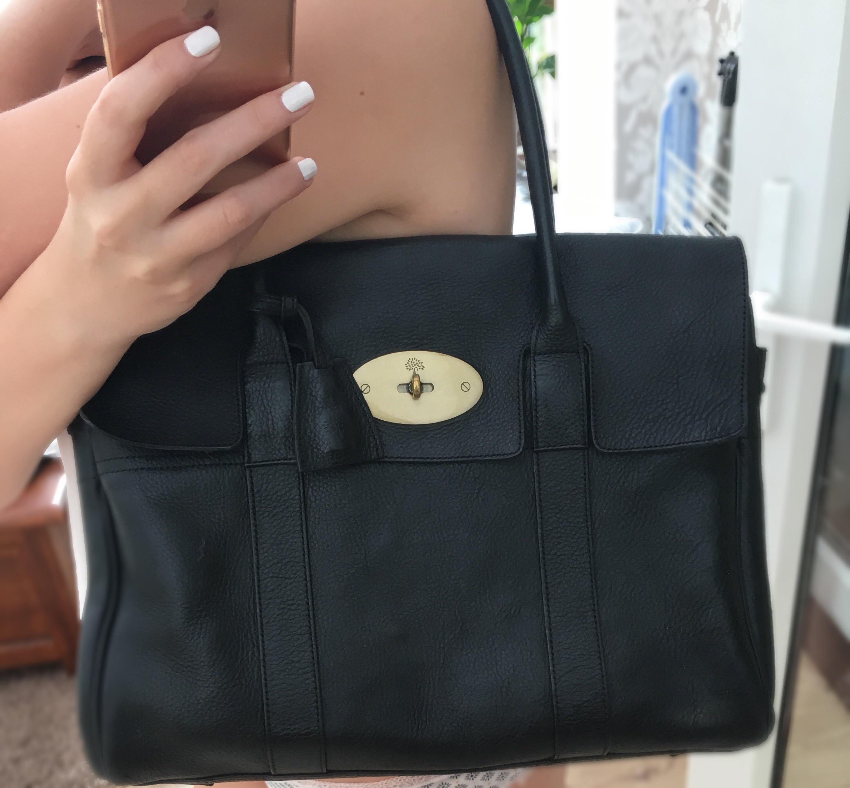 black Bayswater Mulberry handbag