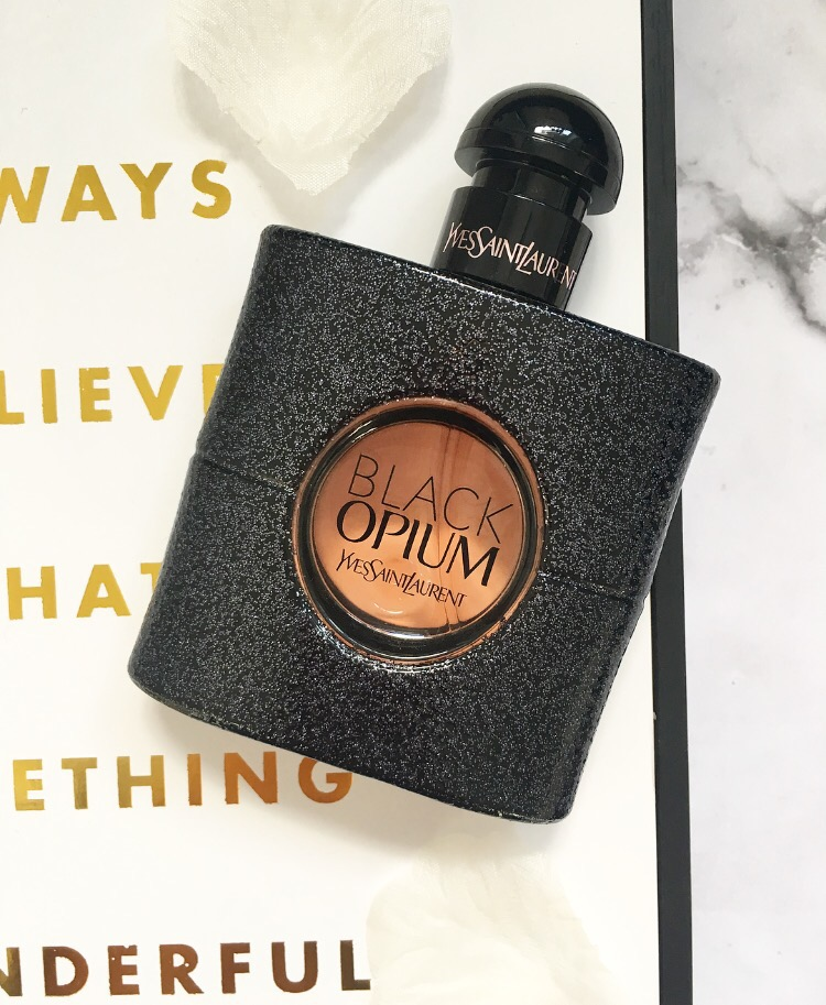 Yves Saint Laurent Black Opium perfume bottle