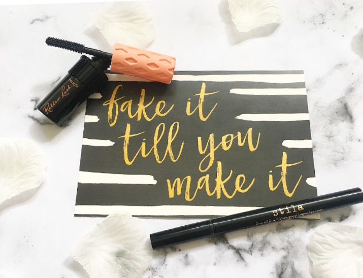 Benefit Roller Lash Mascara and Stila Stay All Day Liquid Liner