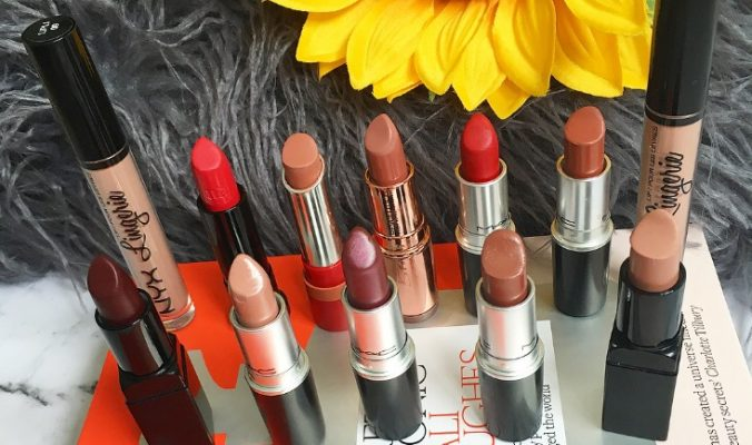 Autumnal Lipstick | A Season In Swatches