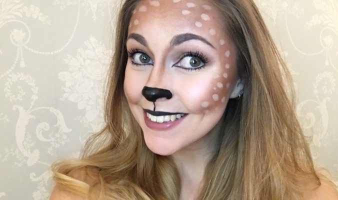 Deer Halloween Makeup | Last Minute Ideas