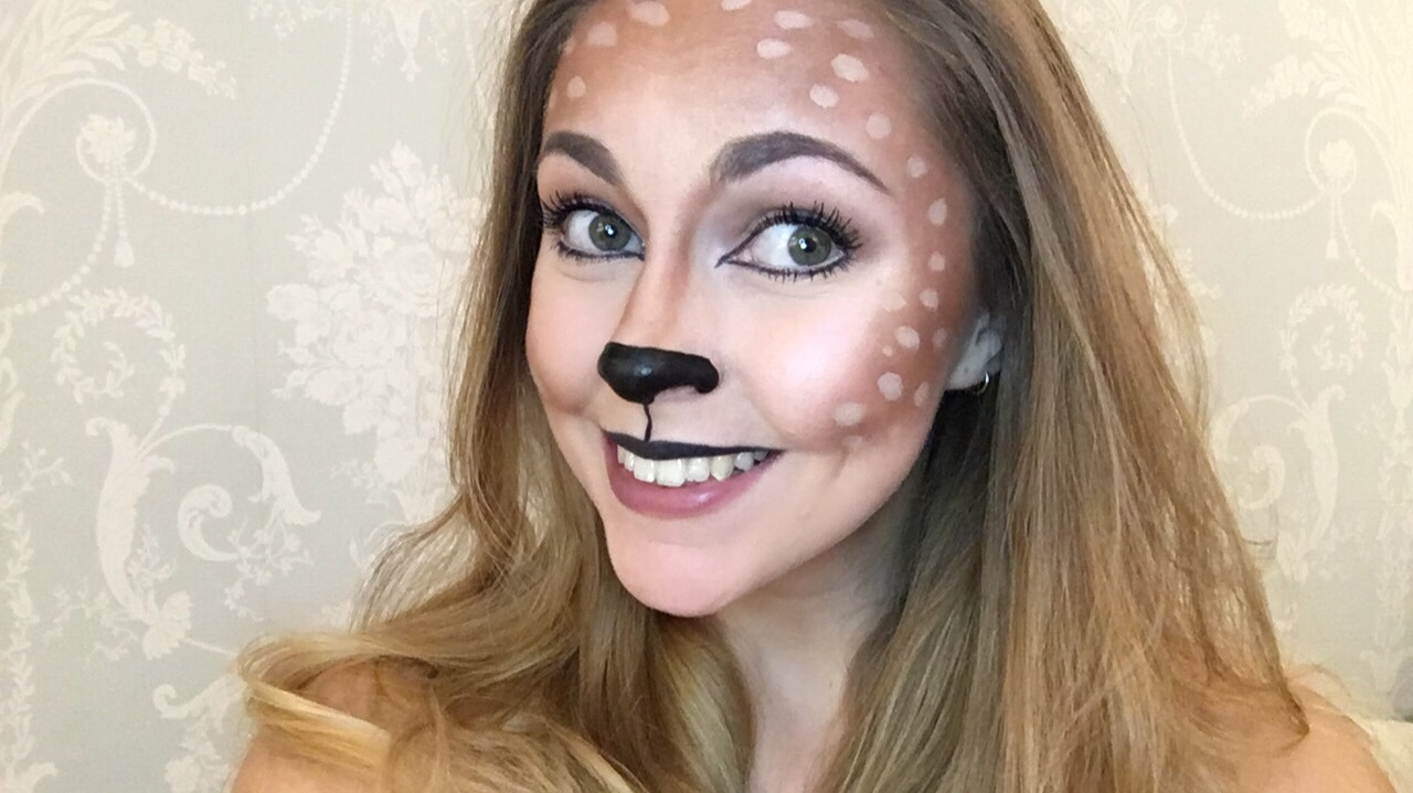 Deer Halloween Makeup | Cute Makeup