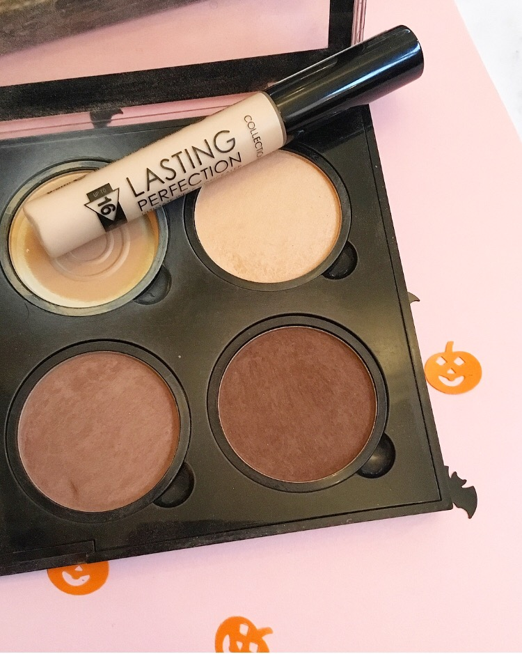 Collection Lasting Perfect Concealer & NYX Pro Palette Contour & Highlight