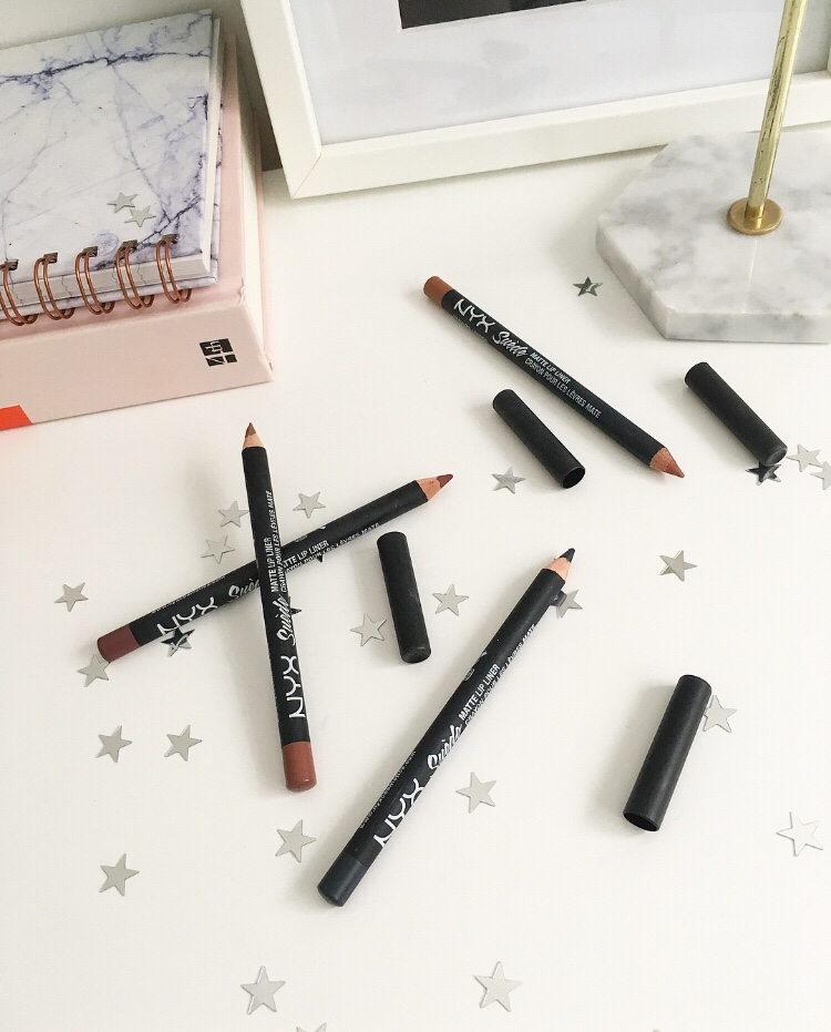 NYX Suede Lip Liners