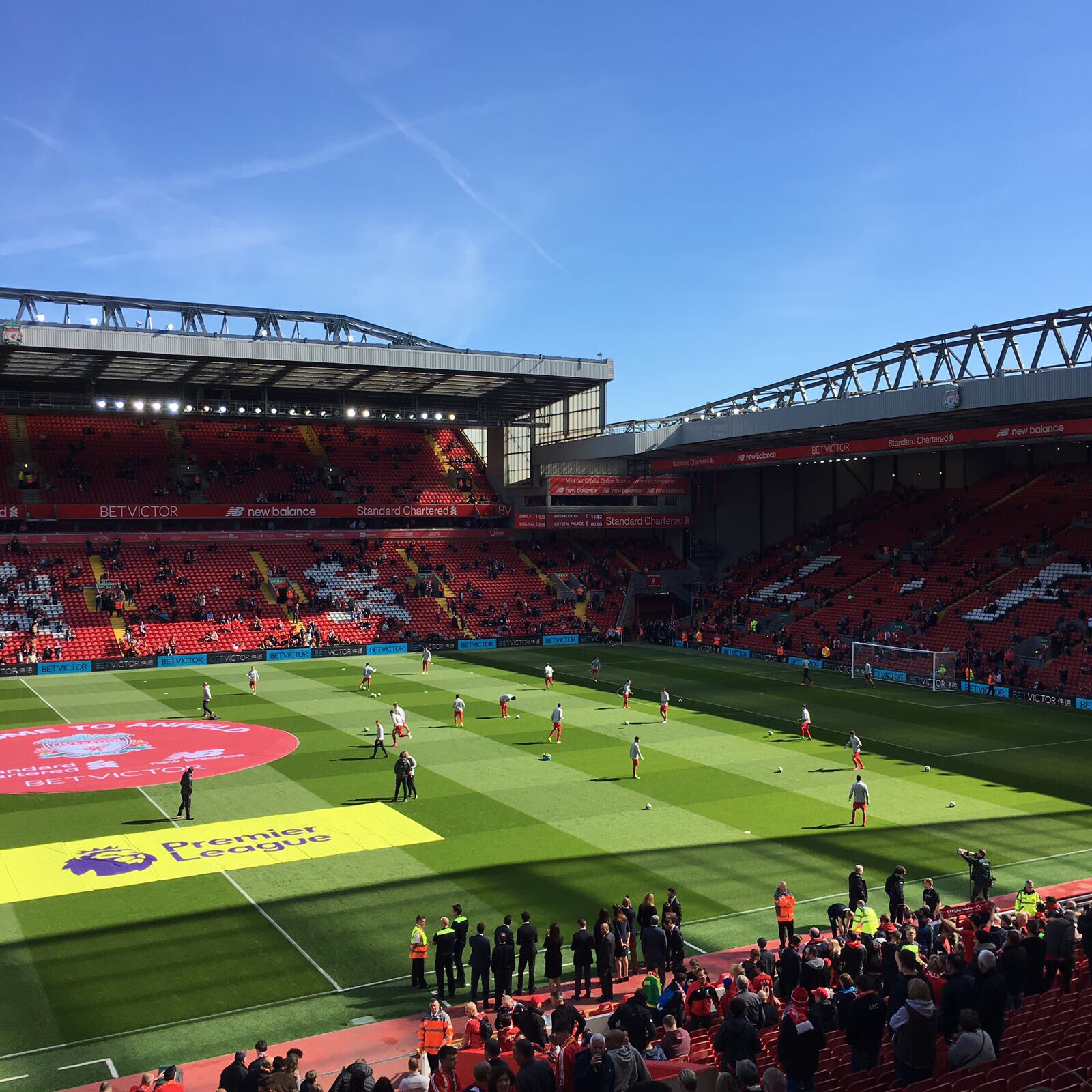 Liverpool Football Club Stadium