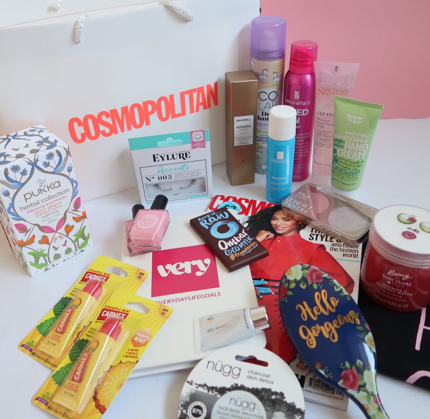 cosmopolitan goodie bag