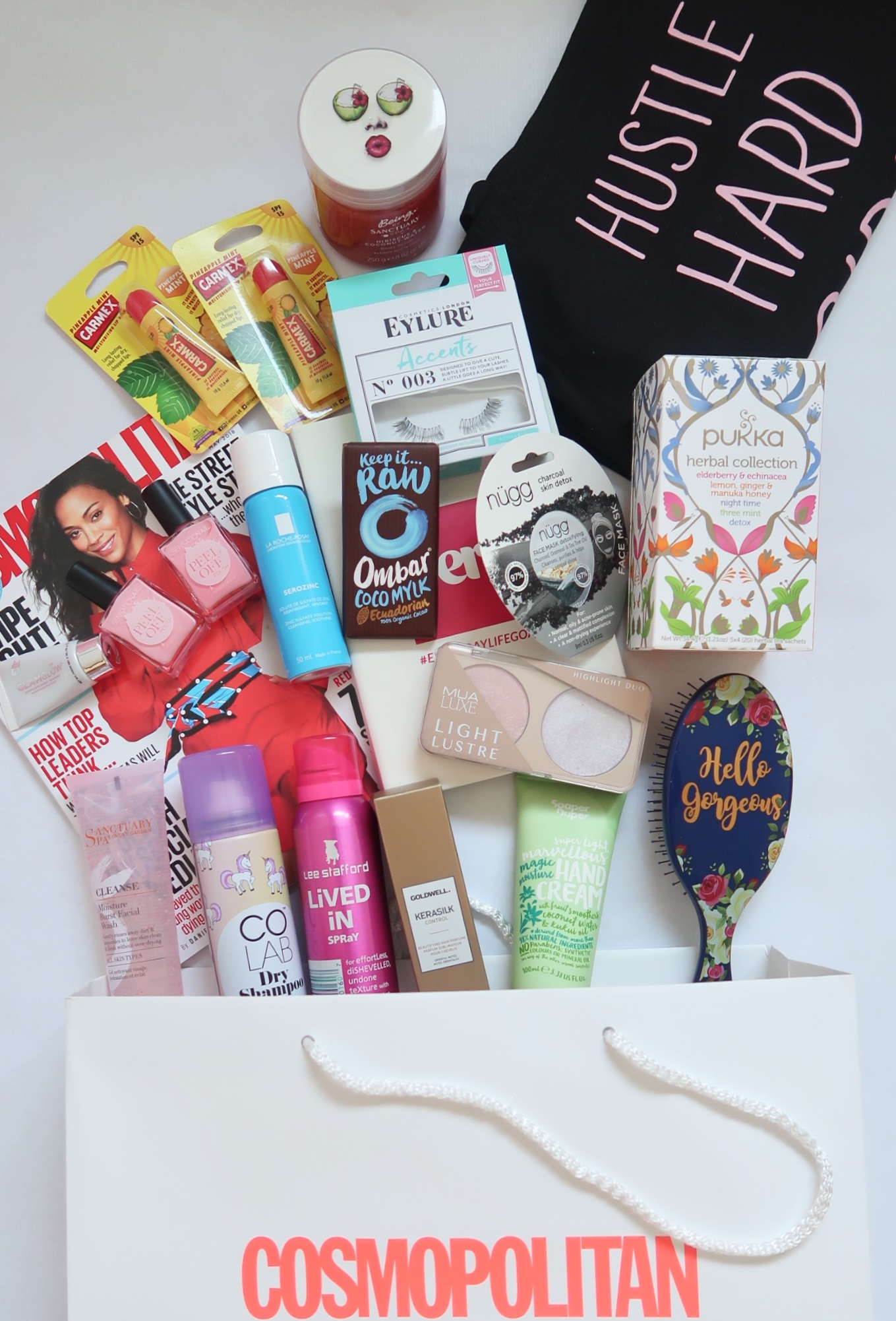 What Was In The Cosmopolitan Goodie Bag?